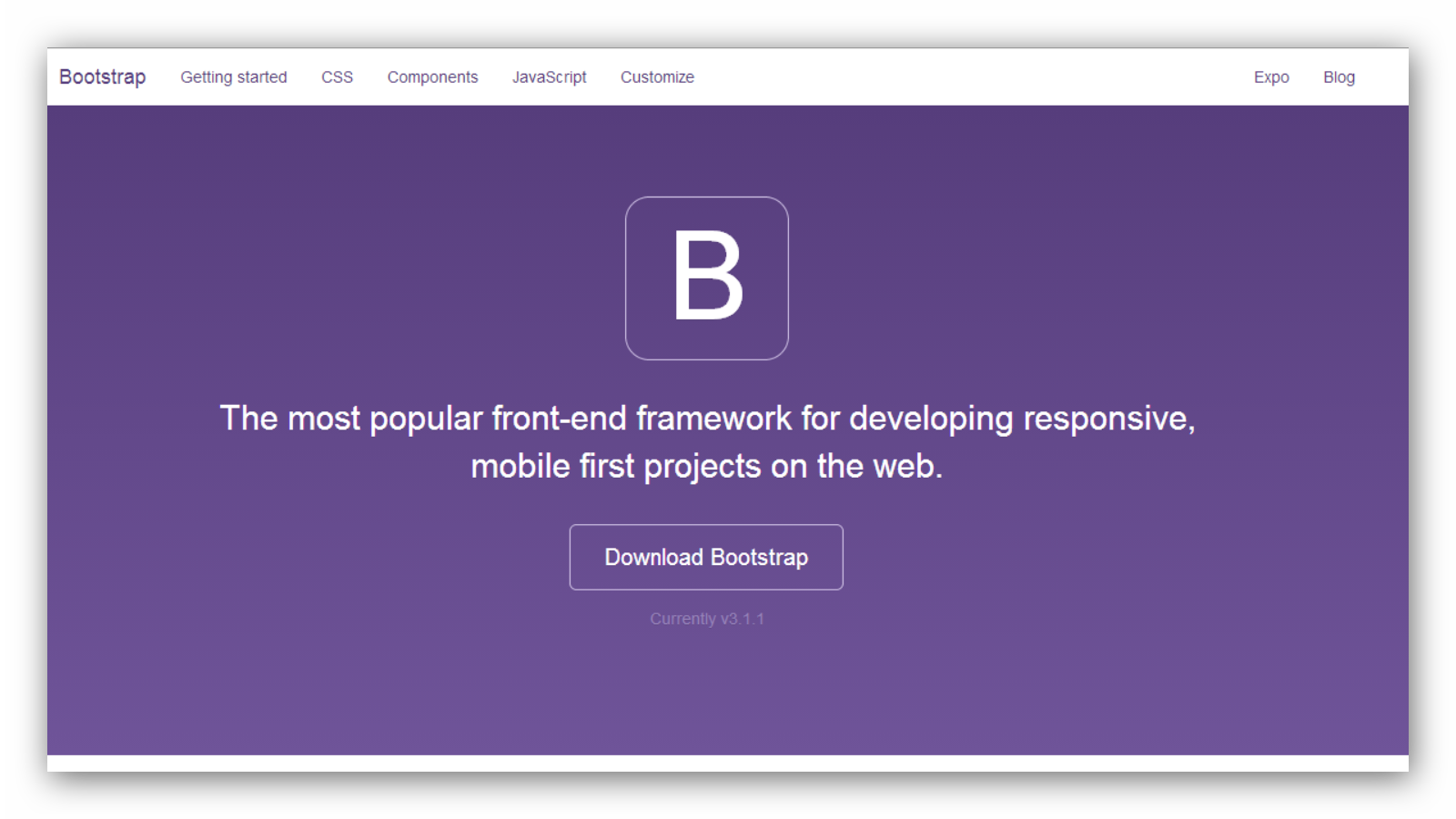 Bootstrap-page